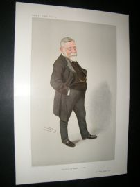 Vanity Fair Print 1910 Thomas Barlow, Doctor